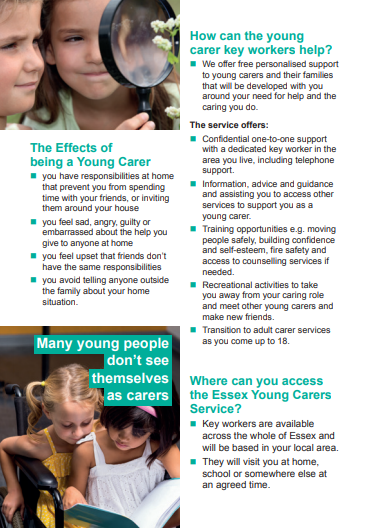 Essex Young Carers Service